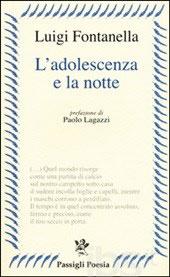 L'adolescenza e la notte, il libro di poesie di Luigi Fontanella