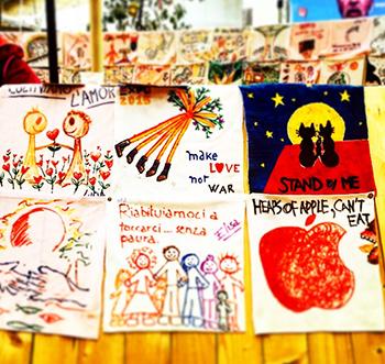 Patch For Future a Expo premiazione delle scuole e inaugurazione dell'opera The Globe per le Nazioni Unite