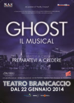 Ghost, Il Musical scritto da Bruce Joel Rubin in scena al Teatro Brancaccio