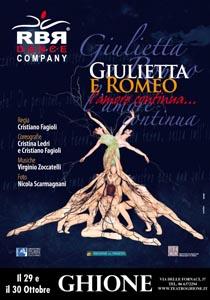 Giulietta e Romeo, l'amore continua, lo spettacolo di danza in scena al Teatro Ghione di Roma