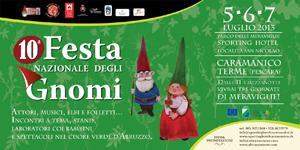 Gli appuntamenti del collettivo formiano nel bosco di San Nicolao a Caramanico. Il Teatro Bertolt Brecht al Festival Nazionale degli Gnomi