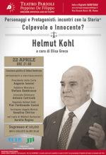Helmut Kohl Colpevole o innocente? L'appuntamento segnalato al Teatro Parioli di Roma