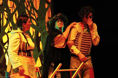 Hansel e Gretel in tour