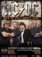 I AC/DC in concerto a Imola, unica tappa in Italia