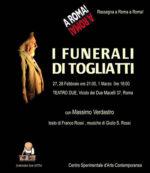 I funerali di Togliatti al Teatro Due Roma