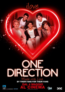 I love one direction approda nelle sale e One direction per la prima volta al cinema