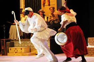 Il paese dei sogni, Zeza e Pulcinella in scena al Teatro Bertolt Brecht di Benevento