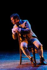 Massimo Wertmuller in Il Pellegrino al Teatro Ghione di Roma