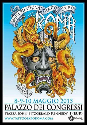 XVI International Tattoo Expo Roma a Palazzo dei Congressi