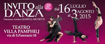 Invito alla danza 2015. Festival Internazionale di Danza e Balletto ai nastri di partenza la XXV edizione
