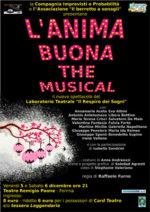 L'anima buona, The Musical. Lo spettacolo in calendario al Teatro Remigio Paone di Formia