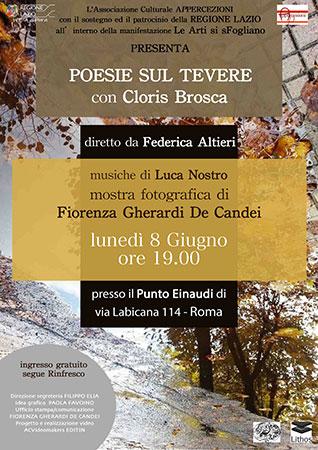 """""""Poesie sul Tevere"""": la moltitudine di Roma nell'evento multiartistico di """"Le Arti si sFogliano"""""""