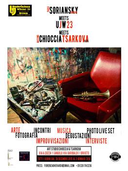 """Il mondo di Umbria Jazz Winter """"in scena"""" alla Bottega Chioccia-Tsarkova di Orvieto"""