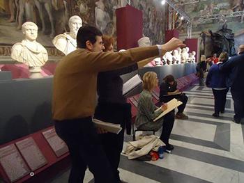 L'età dell'angoscia fra passato e contemporaneità, la mostra didattica visitabile ai Musei Capitolini di Roma