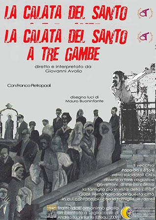 La calata del santo a tre gambe, il primo divertente spettacolo segnalato in cartellone al Teatro Comunale di Forano
