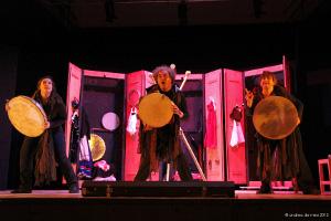 La favole delle Tre Melarance, lo spettacolo in scena all'auditorium di SS. Cosma e Damiano