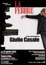 La Febbre, lo spettacolo di prosa cantata di Giulio Casale al Teatro Litta di Milano