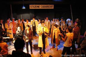 La quinta stazione, il nuovo appuntamento con il cabaret del Bertolt Brecht di Formia