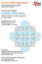 La casa dello spettatore, percorsi innovativi per la gestione della cultura a Viterbo