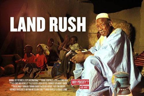 Land Rush – L'Accaparramento improprio delle terre. Proiezione documentario nell'aula magna, ex Facoltà di Agraria dell'Università della Tuscia