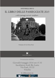 Le Passeggiate2014, il libro di Antonello Ricci