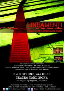Lineamenti i nuovi volti e confini delle mafie, lo spettacolo in scena al Teatro Tor di Nona di Roma