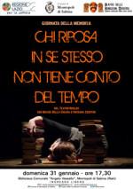 Chi riposa in se stesso non tiene conto del tempo, la performance teatrale in scena alla Biblioteca comunale Angelo Vassallo di Montopoli di Sabina