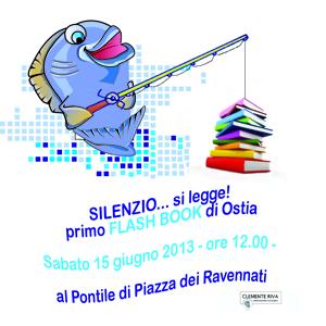 Appuntamento al Pontile di Piazza dei Ravennati per Silenzio… si legge, il primo flash book mob di Ostia!