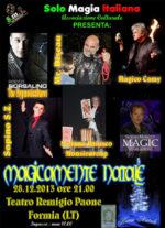 Magicamente Natale: l'unico evento di magia nel basso Lazio al Teatro Remigio Paone