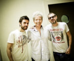 Fabrizio Bosso presenta l'album Tandem sul palco della Sala Sinopoli dell'Auditorium Parco della Musica di Roma