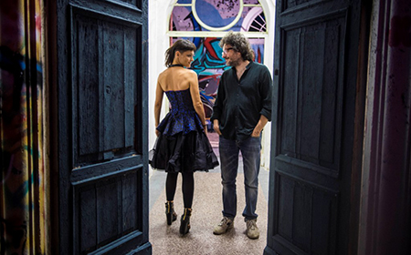 Petra Magoni e Ferruccio Spinetti presentanto a Roma il nuovo album Little Wonder alla  Sala Petrassi Auditorium Parco della Musica