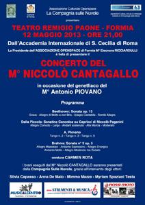 Niccolo Cantagallo: l'astro nascente del concertismo italiano al Remigio Paone