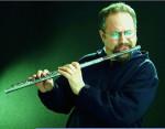 Paolo Innarella Flute quartet sul palco del 28Divino jazz di Roma