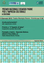 Premio Remigio Paone, al via la seconda edizione