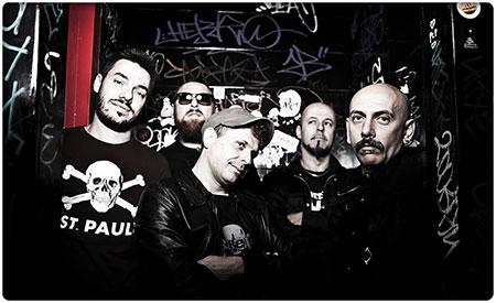 I Punkreas sul palco dell'Estragon di Bologna per una nuova incendiaria serata live