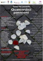 Quattordici Passioni, il volume di Teresa De Leonardis