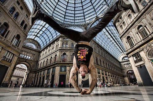 Red Bull BC ONE. La più importante competizione mondiale di breakdance uno contro uno #bcone. La finale nazionale a Roma