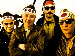 The Rock'n'roll Kamikazes  sotto ai riflettori del BOtanique di Bologna