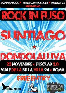 Rock in fuso, i Suntiago approdano al Fusolab di Roma