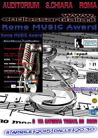 Rome Music Award, concorso nazionale di canto