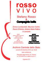 Rosso Vivo, il concerto omaggio a Stefano Rosso