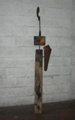 I tre scudieri, sculture e disegni di Thomas Spielmann in mostra alla Galleria d'arte Iper Uranium a Roma