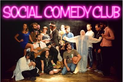 Social Comedy Club, Season4. Ogni quarta domenica del mese al Teatro Lo Spazio