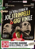 Strimpelli e Vinile, spettacolo musical teatrale con Attilio Fontana, Emiliano Reggente e Ilaria Porceddu