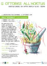 Sale Speziale, le attività autunnali per grandi e piccini dell'Hortus Urbis