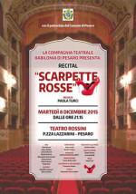 """""""Scarpette rosse"""" al Teatro Rossini di Pesaro"""