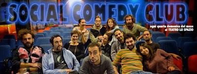 Social Comedy Club, Season4. Appuntamento al Teatro Lo Spazio con il meglio della comicità teatrale romana