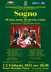 Sogno di una notte di mezza estate in scena al Teatro Remigio Paone