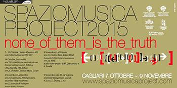Festival Spaziomusica ai nastri di partenza l'appuntamento autunnale a Cagliari
