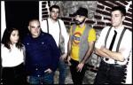La band The Falls in concerto al Contestaccio di Roma